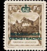 Liechtenstein 1932 - Michel D8 - Postfrisk