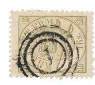 Danimarca - 1864 - AFA 15, timbrato