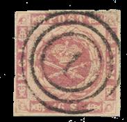 Danimarca - 1854 - AFA 6, timbrato