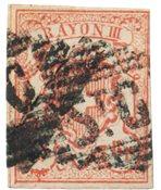 Switzerland 1852 - Michel 10 - Stemplet