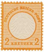 Imperio Alemán - 1872 - Michel 15, con charnela