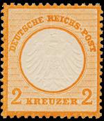 Impero Tedesco - 1872 - Michel 15, nuovo linguello