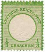 Imperio Alemán - 1872 - Michel 17a, con charnela