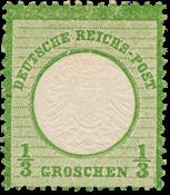 Impero Tedesco - 1872 - Michel 17a, nuovo linguello