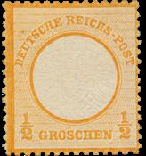 Impero Tedesco - 1872 - Michel 18, nuovo linguello