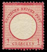 Impero Tedesco - 1872 - Michel 19, nuovo linguello