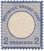 Imperio Alemán - 1872 - Michel 20, con charnela