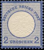 Impero Tedesco - 1872 - Michel 20, nuovo linguello