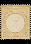 Impero Tedesco - 1872 - Michel 22, nuovo linguello