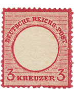 Impero Tedesco - 1872 - Michel 25, nuovo linguello