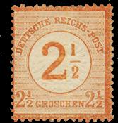 Impero Tedesco - 1872 - Michel 29, nuovo linguello