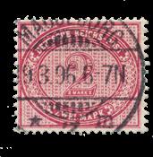 Impero Tedesco - 1875 - Michel 37a, timbrato
