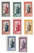 Monaco 1950 - YT 338-43 + LP 49-50 - Neuf