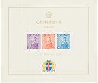Islande 1937 - AFA 190-92 petite feuille - Neuf