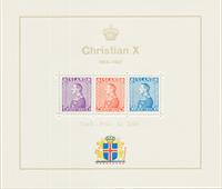 Islanda - 1937 - AFA 190-92 minifogli, nuovo