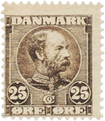 Danimarca - 1904 - AFA 49, nuovo