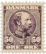 Danimarca - 1904 - AFA 50, nuovo linguello