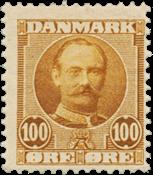 Danimarca - 1907 - AFA 59, nuovo linguello
