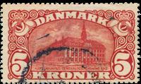 Danimarca - 1912 - AFA 67, timbrato