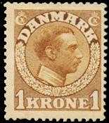 Danimarca - 1913 - AFA 75, nuovo linguello