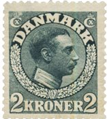 Danemark 1913 - AFA 76 - Neuf avec charnière