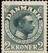 Danimarca - 1913 - AFA 76, nuovo linguello