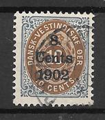 Antillas Danesas  - AFA 21 - Usado