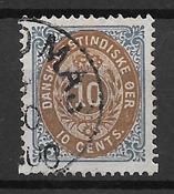 Antillas Danesas  - AFA 11y - Usado