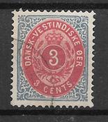 Antillas Danesas  - AFA 6 y - Usado