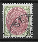 Antillas Danesas  - AFA 5 By - Usado