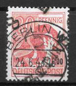 Alemania del Este (RDA) 1948 - AFA 14A - Usado