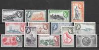 Colonias Británicas 1953 - kat. 203-15 - Nuevo con  charnela