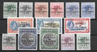 Colonias Británicas 1942 - kat. 121-34 - Nuevo con  charnela