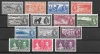 Colonias Británicas 1937 - kat. 218-31 - Nuevo con  charnela