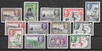 Colonias Británicas 1945 - kat. 70-82 - Nuevo con charnela