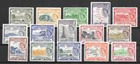 Colonias Británicas 1954 - kat. 113-27 - Nuevo