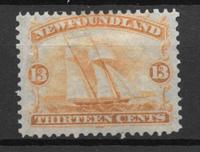 Colonias Británicas 1866 - kat. 20 - Nuevo con charnela