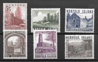 Colonias Británicas 1953 - Kat. 15-20 - Nuevo