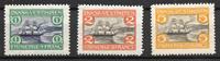 Antillas Danesas 1905 - AFA 30-32 - Nuevo con charnela