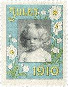 Danmark Julemærke 1910
