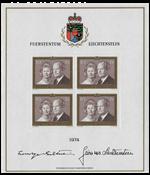 Liechtenstein 1974 - Michel  614-KB - Postfrisk