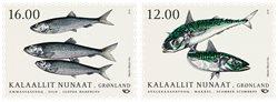 Fisk i Norden - Postfrisk - Sæt