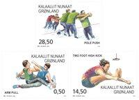 Sport i Grønland III - Postfrisk - Sæt