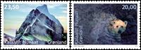 Miljø i Grønland II - Postfrisk - Sæt