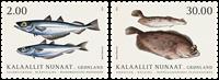Fisk i Grønland II - Postfrisk - Sæt