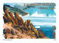 Arktiske ørkener I - Postfrisk - Frimærke