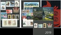 Liechtenstein - Jaarset 2019 - Postfris