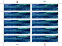 SEPAC: Fantastiske udsigter - Postfrisk - Helark