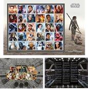 England - Star Wars 2019 - Postfrisk ark 30v på kuvert