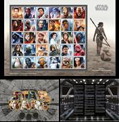 England - Star Wars 2019 - Postfrisk ark 30v